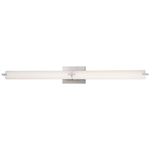 Echo Brushed Nickel 40-Inch LED Vanity