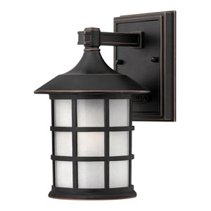 Hillgate Bronzed Copper LED Outdoor Wall Mount