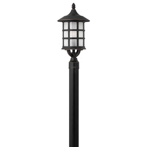Hillgate Bronzed Copper 10-Inch One-Light Outdoor Post Mount
