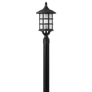 Hillgate Bronzed Copper LED Outdoor Post Mount