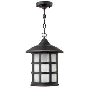 Hillgate Bronzed Copper One-Light Outdoor Pendant