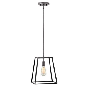 Eastbrook Brushed Zinc 12-Inch One-Light Pendant