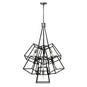 Eastbrook Brushed Zinc Seven-Light Pendant