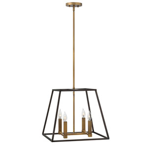 Eastbrook Bronze 18-Inch Four-Light Pendant