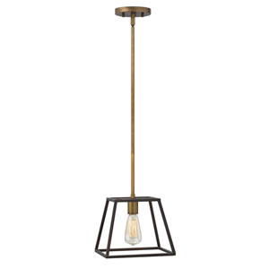 Eastbrook Bronze Nine-Inch One-Light Mini-Pendant