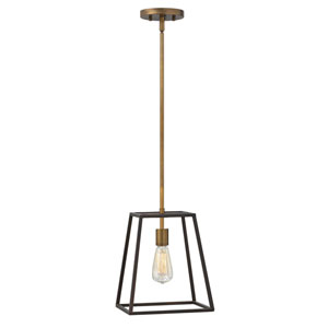 Eastbrook Bronze 12-Inch One-Light Pendant