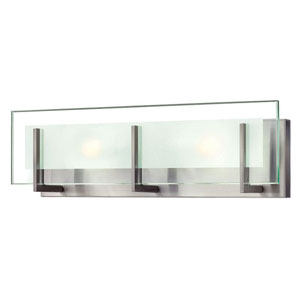 Lyon Brushed Nickel 18-Inch LED Vanity