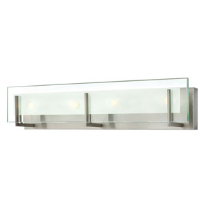 Lyon Brushed Nickel Four-Light Vanity