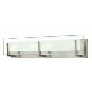 Lyon Brushed Nickel 26-Inch LED Vanity