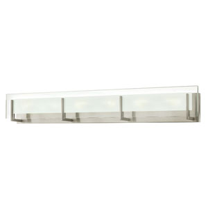Lyon Brushed Nickel Six-Light Vanity