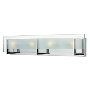 Lyon Chrome Four-Light Vanity