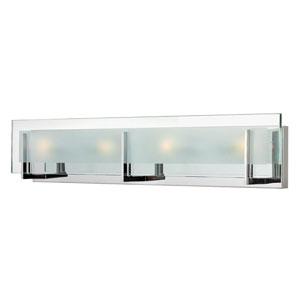 Lyon Chrome Four-Light Vanity