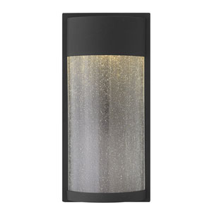 Brixton Black 18-Inch LED Outdoor Wall Mount