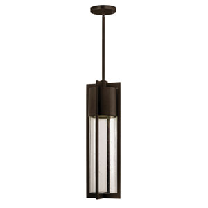 Brixton Bronze One-Light Outdoor Pendant