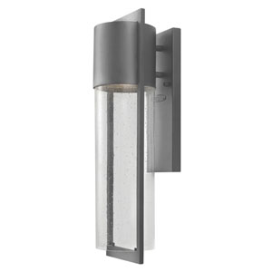 Brixton Graphite Six-Inch LED Outdoor Wall Mount