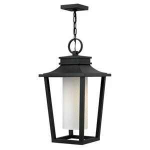 Glenview Black 23-Inch One-Light Outdoor Pendant