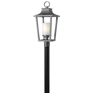 Glenview Graphite One-Light Outdoor Post Mount