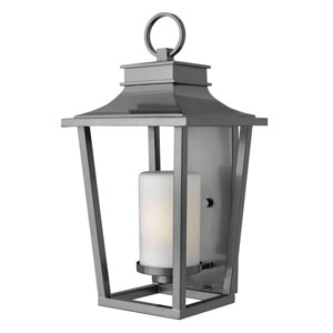 Glenview Graphite 23-Inch One-Light Outdoor Wall Mount