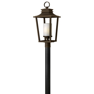 Glenview Rubbed Bronze LED Outdoor Post Mount