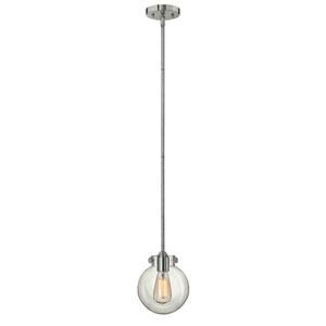 Irving Chrome Seven-Inch One-Light Mini-Pendant