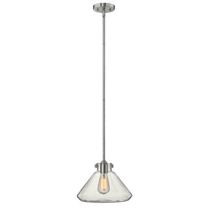 Irving Chrome 12-Inch One-Light Pendant