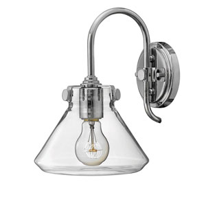Irving Chrome 11-Inch One-Light Bath Sconce