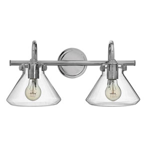 Irving Chrome Two-Light Vanity