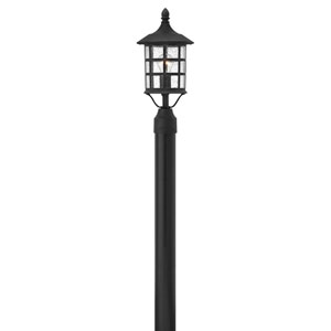Hillgate Black Eight-Inch One-Light Outdoor Post Mount
