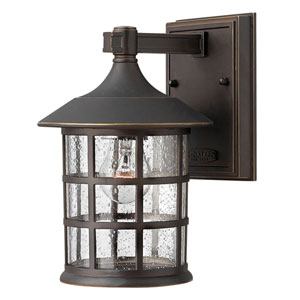Hillgate Rubbed Bronze Six-Inch LED Outdoor Wall Mount