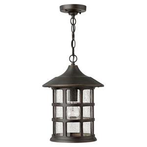 Hillgate Rubbed Bronze One-Light Outdoor Pendant