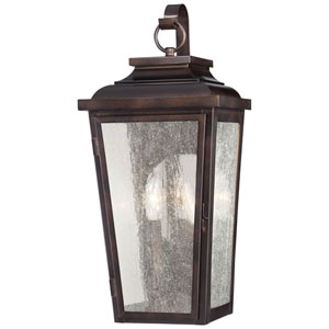 Chamberlain Bronze Two-Light Outdoor Wall Mount