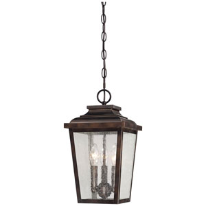 Chamberlain Bronze Three-Light Outdoor Pendant