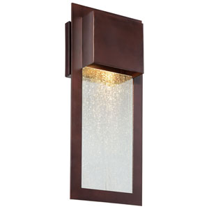 Vernon Bronze 16-Inch One-Light Outdoor Wall Mount