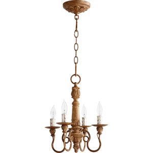 Bouverie Soft Umber Four-Light Chandelier