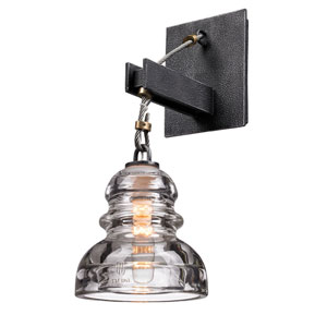 Sullivan Aged Pewter One-Light Wall Sconce