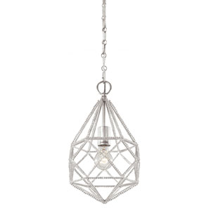 Gemma Silver One-Light Mini-Pendant