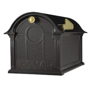 Black Balmoral Mailbox