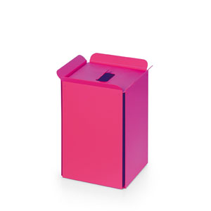 Complements Fuchsia Bathroom Waste Basket