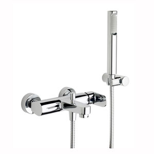 Candy Exposed Shower Mixer with Hand Shower