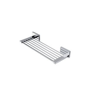 Carmel Chrome Towel Rack 12-inch