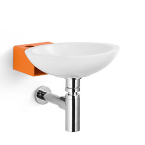 Linea Stainless Steel Wall Mounted Bathroom Sink