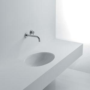 Gardenia Under Mounted Bathroom Sink