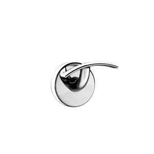 Gealuna Self-Adhesive Single Bathroom Hook in Polished Chrome