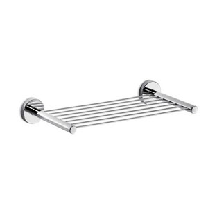 Gealuna Self-Adhesive Bathroom Shelf in Polished Chrome