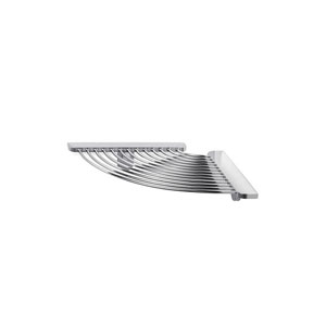 Gealuna Corner Shower Shelf in Polished Chrome