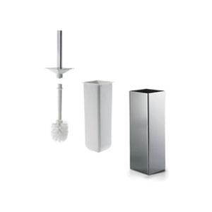 Gealuna Toilet Brush Holder in Polished Chrome