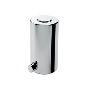 Hotellerie Soap Dispenser in Polished Chrome