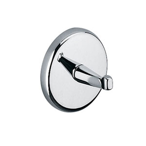 Hotellerie Bathroom Hook in Polished Chrome