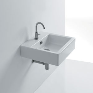 Wall Mounted / Vessel Bathroom Sink