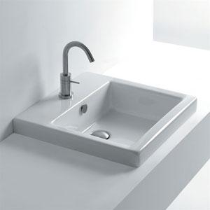 Hox Recessed Bathroom Sink